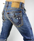 True Religion Men's Ricky Straight Super T Brand Jeans - M859NRY6