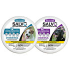 Salvo Flea & Tick Collar for Dogs (2 Collars) Sizes Small/Large w/ Deltamethrin