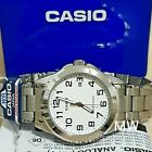 CASIO MEN'S MTP-1215A-7B2 STAINLESS STEEL ANALOG CASUAL DRESS QUARTZ DATE WATCH