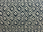 Farrow  Jacquard  Navy Blue/White Curtain/Upholstery /Craft/Upholstery Fabric