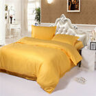 SINGLE DOUBLE QUEEN KING Size Bed Quilt/Duvet/Doona Cover Set 100% Cotton Linen