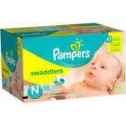 Pampers Swaddlers Super Pack Diapers Choose Your Size Newborn1.2.3.4.5.6