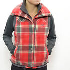 Roxy Women's Ventura Gilet Casual Jacket - AW11: Crink V Pld Red