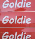 Goldie stickers are now available 1 for 3$