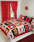 BETTY BOOP PICTURE REVERSIBLE DUVET SET SINGLE DOUBLE KING SUPERKING CURTAINS £25.5 GBP