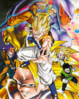 Dragon Ball Z Mosaic Giant Art Large Poster  + gift #2