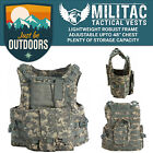 Tactical Vest. Airsoft /Paintball Vest / Molle Combat Assault Vest + Mag Pouches