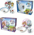 Paw Patrol Ceramic Kids Girls Boys Breakfast Set Dinnerware Mug Cup Plate Xmas