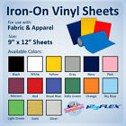 vinyl for fabric - IRON-ON Heat Transfer Vinyl For Fabric: 9