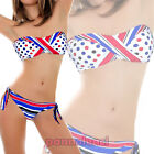 Bikini costume optical multicolour swimwear woman underwear double face B2318