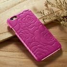 Vintage Floral Leather Hard Back Case For iPhone 6 6s 6 Plus 6s + Slim!!