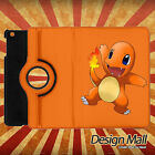 Pokemon Go Charmander apple ipad mini smart rotate stand cover case