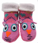 Girls Slippers Socks Boots Shoe Sizes 6-8.5 9-12 12.5-3.5 4-6.5 Great Gift