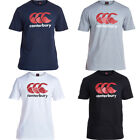 Canterbury Team Logo T Shirt CCC Short Sleeve Training Top Gym Tee Rugby E546720