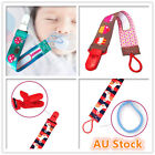Dummy Clip Pacifier Clip Strap String Chain Toddler Baby Kids Soother Holder New