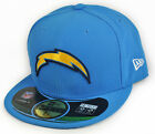 New Era Cap NFL Football San Diego Chargers Aqua Blau On Field 59Fifty
