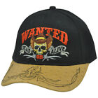 Wanted Dead or Alive Wild West Guns Stand Your Ground 2nd Amendment NRA Hat Cap