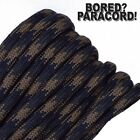 Tactical Camo - 550 Paracord Rope 7 strand Parachute Cord 10 25 50 100 ft