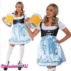 Deluxe Ladies Beer Maid Wench Costume Oktoberfest Octoberfest German Fancy Dress