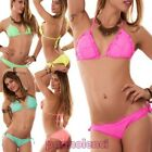 Bikini woman swimwear sea triangle two pieces curly new 1583
