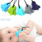 Baby Silicone Teething Necklace Chew Feet Pendant Teether NO BPA Appealing Toy