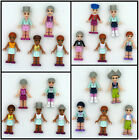 Lots of 5 LEGO FRIENDS EMMA~OLIVIA~STEPHANIE Fashion Girls Mini Figure le1385