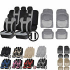 UAA Luxury Carpeted VAN Rubber Mats & Dual-Stitch Racing Polyester Seat Covers
