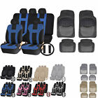 UAA Luxury Carpeted TRUCK Rubber Mats & Dual-Stitch Racing Polyester Seat Covers