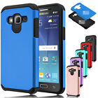 For Samsung Galaxy J7 J700 2015 Phone Case Hybrid Rugged Armor Dual Layer Cover
