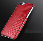 Original HOCO LIZARD Pattern Real Leather Case for iPhone 6S 6 Plus Back Shell