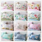 New Floral Animal 100% Cotton Pillow Cases Decorative Cushion Covers Bed Linen