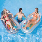 NEW Inflatable Designer Lounger Lilo Swimming Pool Air Bed Float