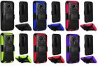 Holster Clip + Hybrid w Kickstand Phone Cover Case For ZTE Quest N817 Uhura