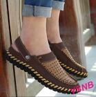 Summer Men's Leather Breathable Leather Sandals  Shoes Slippers Casual Shoes#678