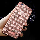 Slim Bling Glitter Soft Back Protector Case Cover For iPhone Samsung Huawei LG