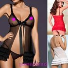 Babydoll chemise woman + thong coordinate sexy lingerie DL-928