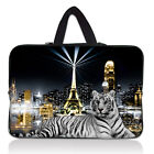 """Many Designs 14"""" 14.1"""" Neoprene Netbook Laptop Sleeve Bag Case Cover With Handle"""