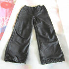 New H&M CHILDREN'S SKI PANTS Black Pink Water Proof Coating Unisex OZ SELLER