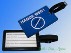 Luggage tag with Emergency Naehset,Suitcase Name shield,Sewing needle Yarn