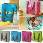 Large Insulated Tote Lunch Bag Box Cool Thermal Waterproof Food Drink Picnic