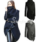 Women's Fashion Slim Wool Warm Long Windbreaker Coat Jacket Trench Outwear S-3XL