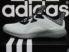 NEW ADIDAS Alphabounce Men's Running Shoes - Grey/Black;  AQ8214