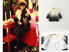 2102 Boutique Faux Fur Coat Full Cotton Lined Very Chic