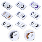 Multi-choice 1 Pair False Eyelashes Waterproof Long  Fashion Assorted Color