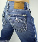 True Religion $328 Men's Ricky Straight Super T Brand Jeans - M859NTA2
