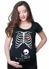 Used, Where do babies come from Skeleton pregnancy Halloween funny t-shirt book baby for sale  Shipping to South Africa