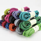 Reflective Round Rope Shoe Laces Shoelaces Runner Safty Shoestrings 4 Colors