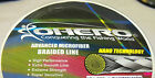 OHERO ADVANCED BRAIDED MICROFIBER FISHING LINE-- 50 lbs -300 YDS - CHOOSE COLOR
