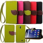 Flip Leather Card Wallet Case Stand Cover Pouch&Strap For Lenovo Smart Phnes