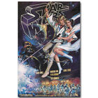 Star Wars 1980 Classic Movie Vintage Silk Poster Print 12x18 24x36 inch $5.59 CAD